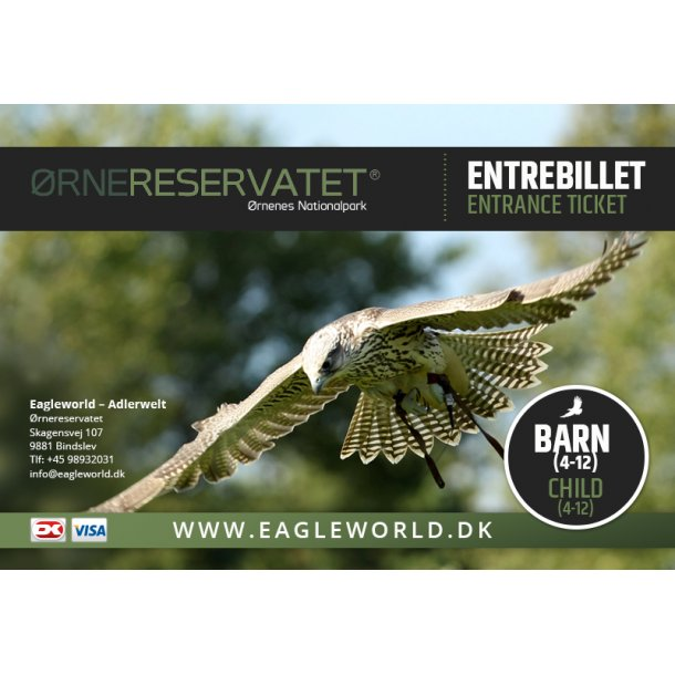 Entrebillet barn (Child) online ticket